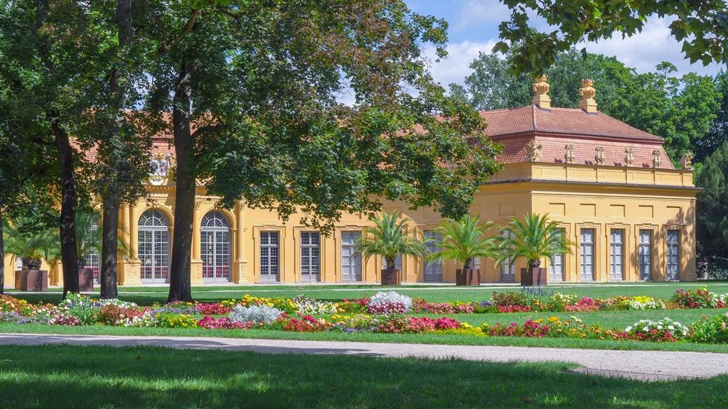 Orangerie im Schlosspark Erlangen