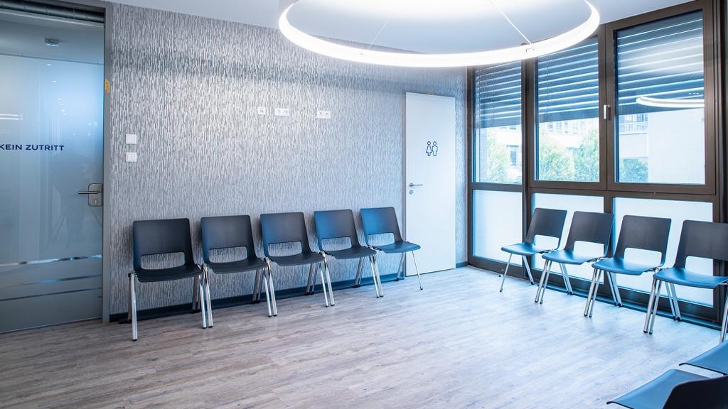Wartebereich für Patienten