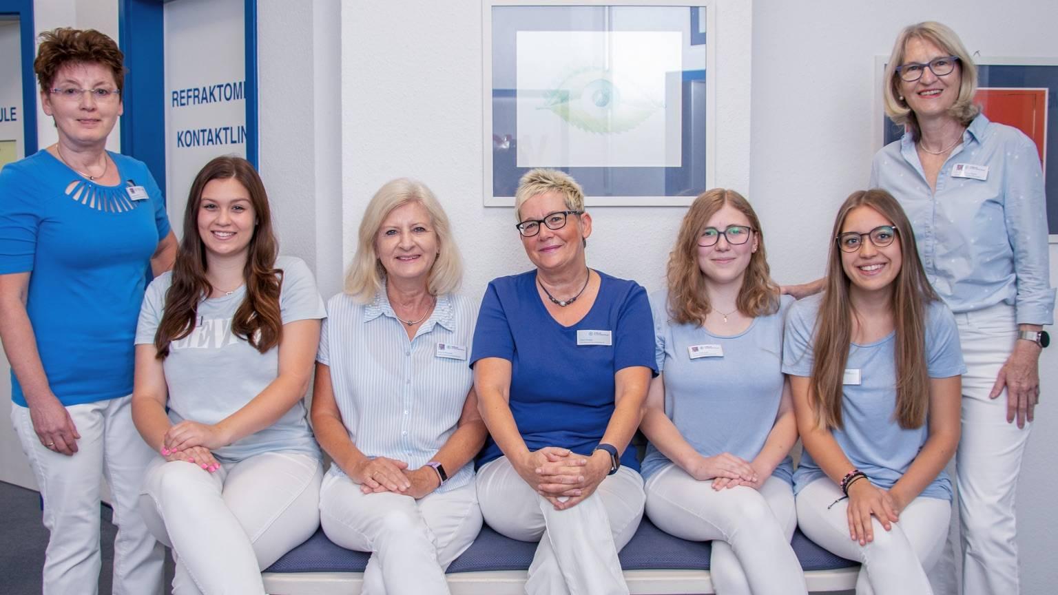 Praxisteam des Viselle Augenzentrums, Standort Eckental